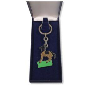 Porte-clés Ane émaillé PC023