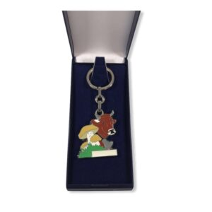Porte-clés Vache émaillé PC021