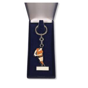 Porte-clés Rugby émaillé PC001G