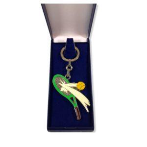 Porte-clés Tennis émaillé PC005