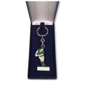 Porte-clés Rugby émaillé PC001V
