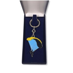 Porte-clés Parapente émaillé PC003J