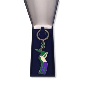 Porte-clés Golf émaillé PC007