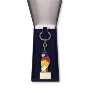 Porte-clés Perroquet émaillé PC028