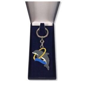 Porte-clés Dauphin émaillé PC030