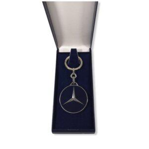Porte-clés Mercedes émaillé PC034
