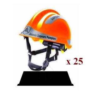 Lot de 25 Trophées JSP 25PN 001