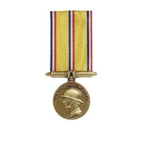 Médaille Pompiers ancienneté 10 ans 00878