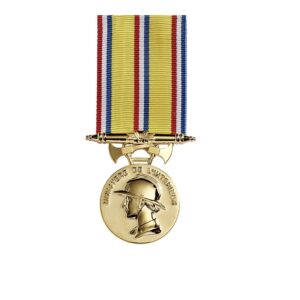 Médaille Pompiers ancienneté 30 ans 00876
