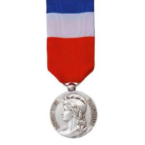 Médaille du Travail 20 ans Argent 00884