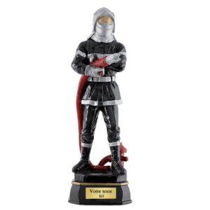 Trophée Pompiers en résine RS0897