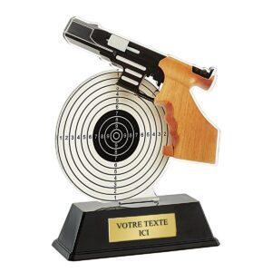 Trophée Tir Pistolet PN057