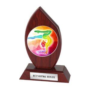 Trophée Gym Femme H163D11