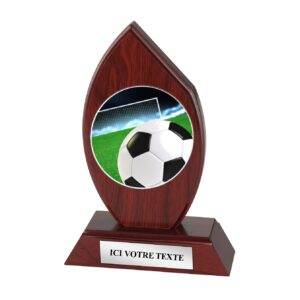 Trophée Football H163D08